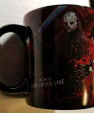 Freddy vs Jason 20oz Ceramic Mug Friday the 13th & Nightmare On Elm Street New