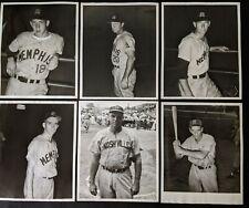 Vintage 1957 Mobile New Orleans Memphis Nashville Southern SIGNED Photos (13 LOA