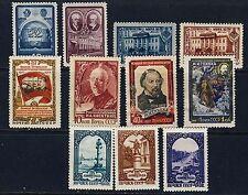 Russia Scott 1295-96, 1299-1300, 1735, 1807, 1907-08, 1941-43
