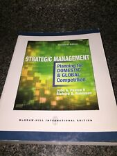 Strategic Management: Planning for Domestic & Global Competition