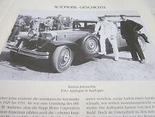 Internationales Automobil Archiv 1 Geschichte 1024a Ruxton Automobile