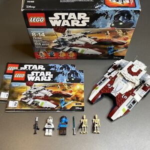 LEGO Star Wars- Republic Fighter Tank (75182) 100% Complete Aayla Secura Clone