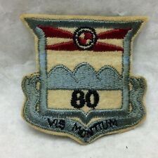 Military Patch Army 80th Infantry Division Embroidery on Felt Type 1 Variant 80