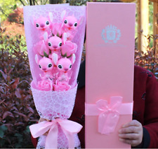 Stitch Cartoon Flower Bouquet Plush Toy Kawaii Stitch Graduation Bouquets Plush