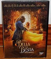 LA BELLA Y LA BESTIA LA PELICULA 2017 DVD DISNEY NUEVO PRECINTADO (SIN ABRIR) R2
