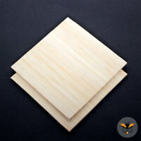 3 mm Bamboo Plywood Sheet, A6 A5 A4 A3 A2 A1 Boards, Crafts, CNC & Laser Cutting