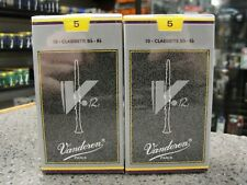 Vandoren V12 Bb Clarinet Reeds (Strength5) - 2 Boxes of 10