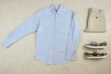 Norse Projects - Shirt - Light Blue Pattern - Large