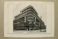 BB3) Architektur Berlin 1925 Verlagsgebäude Rudolf Mosse G.Mendelsohn R.Neutra