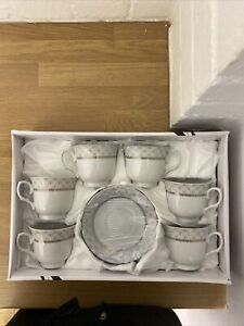Tea Set Cup And Saucers 6 Cups And 6 Saucers *BRAND NEW*