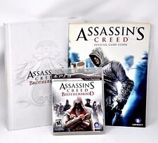Lot PS3 Game / Assassin's Creed Brotherhood Collector's Edition & Guide