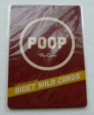 NEW Poop the Game Limited Edition Bidet Wild Cards Pack