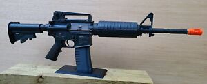 Gun Display STAND - AEG Airsoft or Sporting Rifle- Magazine Style- Black PETG