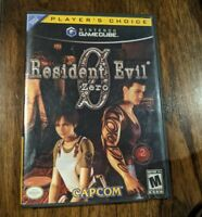 Resident Evil  Zero O (Nintendo Gamecube) CIB Complete with Manual