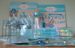 Baby Shower Blue - Party Tableware Decorations - Bumper Pack