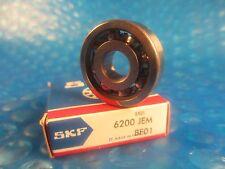 SKF 6200 JEM Deep Groove Roller Bearing,6200JEM,(=2 NSK, NTN,Fafnir,Timken 200K)