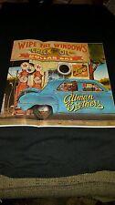 Allman Brothers Wipe The Windows Rare Original Retail Promo Ad!