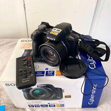 Sony Cyber-Shot DSC-H50 Digital Bridge Camera 9.1MP Black GREAT CONDITION