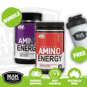 Optimum Nutrition Amino Energy Amino Acid | Twin Pack | FREE Shaker & Shipping