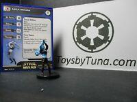 Star Wars Miniatures Aayla Secura Clone Strike CS w/ Card mini RPG Legion