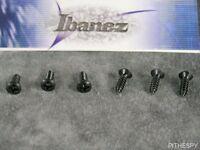 NEW IBANEZ BACKPLATE OR PICKGUARD BLACK SCREWS 6 GUITAR PARTS RG JS JEM S GRG