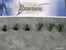 NEW IBANEZ BACKPLATE OR PICKGUARD BLACK SCREWS 6 GUITAR PARTS RG JS JEM S GRG