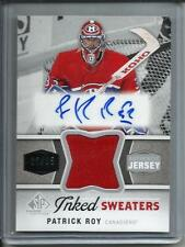 Patrick Roy 14/15 SP Game Used Edition Autograph Game Used Jersey #25/25