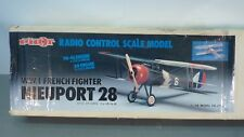 "PILOT 56"" NIEUPORT 28 W.W.I FRENCH FIGHTER Radio Control OK Model Airplane Kit"