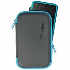 Hori slim hard pouch for New Nintendo 2DS LL Black Turquoise 28265 JAPAN