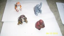 Essex Pewter set of 4 Nicely Painted African Animals
