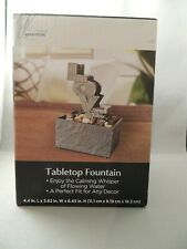 New Tabletop Fountain Love Sculpture Home Desk Decor Trueliving Rocks Room