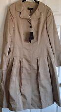 ESCADA/Neiman Marcus Silk Satin Coat Dress Size 12 NWT RETAIL $2550 silk lined
