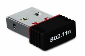 150Mbps Wifi Mini Usb Adapter Wireless Dongle Adaptor 802.11 B G N Lan Network!!
