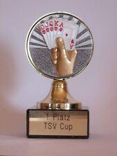 Poker/Skat-Pokal mit Wunschgravur (101)