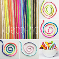 MINI PEARL Pom Pom Bobble Trim Braid Fringe Ribbon Edging Craft Decoration