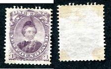 Mint Newfoundland 1 Cent Stamp #32 (Lot #6394)
