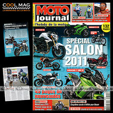 MOTO JOURNAL N°1924 HARLEY ROAD KING GUZZI 1100 CALIFORNIA VINTAGE MOTO TOUR 10