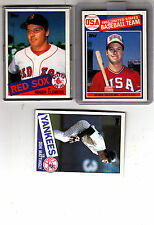 1985 TOPPS BASEBALL HAND COLLATED SET 792 CARDS -CLEMENS, MCGWIRE RC, MATTINGLY