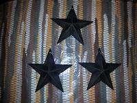 Hope Dream Faith Distressed New Imagine Set of 4 Primitive Star Magnets