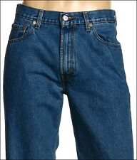 New Levi's Mens 550 4891  Original Relaxed Fit  Stonewashed Denim Jeans 40 X 34