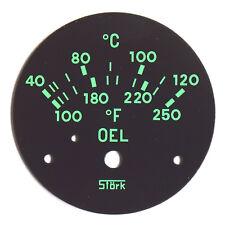 PORSCHE 356 pre una temperatura dell'olio CICOGNA 1953-1955 Dial Concours replica di qualità