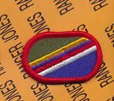 450th Civil Affairs Bn CAPOC Airborne para oval patch m/e C