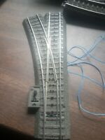 Marklin #24611 HO Scale C-Track Left Hand Motorized and lighted Switch Turnout