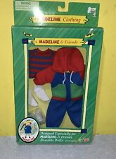 Madeline & Friends Doll A Day in the Park Sweats Outfit Clothes New In Box