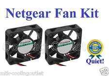 New! Quiet Version Netgear GSM7224 FAN Kit, 2x new fans for GSM 7224