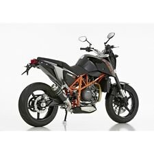 "KTM 690 Duke HURRIC Ersatzdämpfer ""SUPERSPORT"" EG/BE Black Edition-Endtopf r"