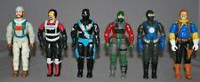 G.I. Joe Figures - lot of 6
