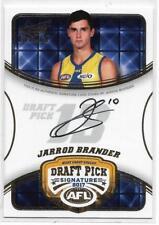 2018 Select Legacy Draft Pick Signature (DPS17) Jarrod BRANDER West Coast #064