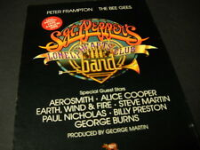 SGT. PEPPER'S re-do PROMO AD Aerosmith BEE GEES Earth Wind & Fire FRAMPTON mint