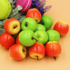 50 pcs Miniature Realistic Fruits Artificial Apples Multi-colored Crafts Decor